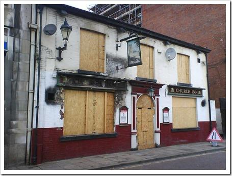 Church Inn Closed pub Manc-Salford