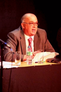 Salford mayor debate Salford Arts Centre.  Joe O'Neill   Pic:  Lee Boswell 24/4/12