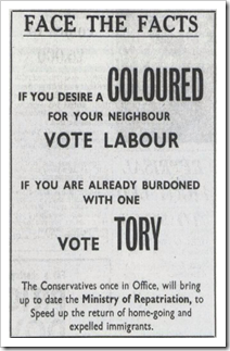 Racist tories revisited