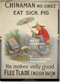 Racist Tory poster - 3
